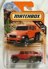 Mercedes-Benz G63 AMG 6x6 1:64 Scale Die-Cast Model From MBX Off Road, MatchBox
