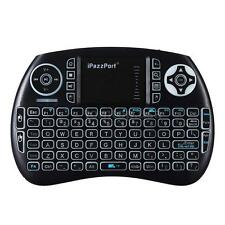 iPazzPort Mini Bluetooth Wireless Keyboard Mouse Touchpad Backlight for PC Z9G4