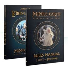 Middle Earth Rule Book (german) Games Workshop Lord of The Rings Hobbit