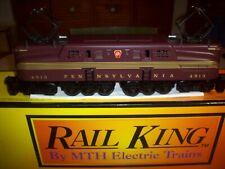 MTH Rail King Pennsylvania GG-1 TUSCAN 5-STRIPE CAB#4913 RK-2501 LOCOMOTIVE C9++