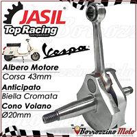 ALBERO MOTORE JASIL TOP RACING ANTICIPATO CONO 20mm PER VESPA PK 50 XL RUSH N HP
