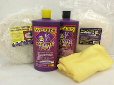 Wizards Mystic Buffing Compound & Pad Kit-11048, 11047, 11203, 11205