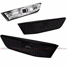 SMOKE BUMPER SIDE MARKER LIGHT LAMP FITS FOR 03-07 INFINITI 2DR COUPE