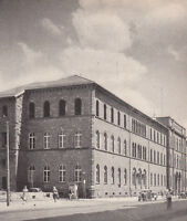 Karlsruhe - Fridericiana - Hauptgebäude - um 1950 - selten