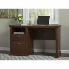 Yorktown Home Office Desk with File in Antique Cherry - Engineered Wood