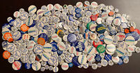 Mixed Lot Of 520+ Vintage Pinback Pins Political Buttons