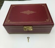 Apex Japan Gold And Cream Plays The Shadow Of Your Smile Toleware Style Vintage Music Jewelry Box
