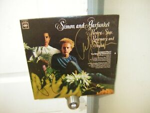 Simon &Garfunkel signed lp **Parsley Sage Rosemary and Thyme by 2 members