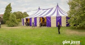 HIRE BigTop Circus Tent Marquee Festival Wedding Party - Various colours & sizes