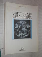 IL DIRITTO CIVILE NELLA LEGALITA COSTITUZIONALE Pietro Perlingieri Scientifiche