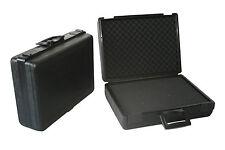 Fotokoffer Multifunktionskoffer schwarz, mit Raster- u. Noppenschaumstoffeinlage