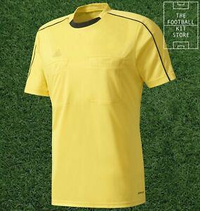 adidas Referee Shirt Yellow - Ref 16 Jersey - Sports / Football Mens - All Sizes