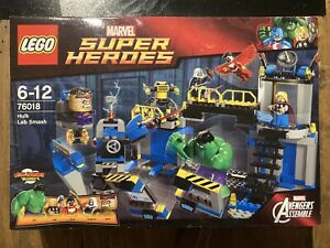 Lego Marvel Super Heroes 76018 Hulk Lab Smash