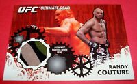 2010 Topps UFC Series 4 Ultimate Gear Relic #UG-RC Randy Couture MMA Card