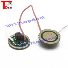 20mm 3W DC3.7V 1 Mode LED Driver F CREE XRE-Q5/XPE XP-E /XBD XB-D all kind of 3W