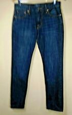 Lucky Brand 221 30 X 32 Men's Original Straight Dark Wash Denim Blue Jeans