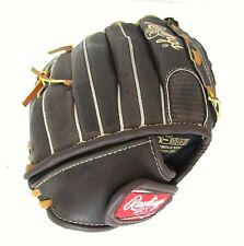 """Rawling Fp120 12"""" Brown Right Hand Fastpitch Series Leather Softball Glove Mitt"""