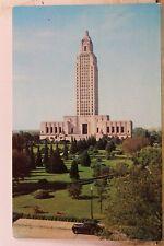 Louisiana LA Baton Rouge State Capitol Building Postcard Old Vintage Card View