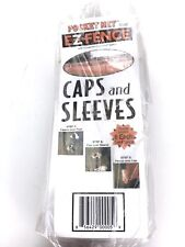 Pocket Net Ez Fence Caps And Sleeves Set of 6- New, Sealed in Packaging!