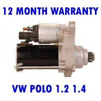 VW POLO 1.2 1.4 1.6 HATCHBACK 2001 2002 2003 2004 2005 - 2015 RMFD STARTER MOTOR