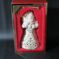 Lenox Annual Pierced Santa Christmas Ornament #6385447 New in Box (1Zkr)