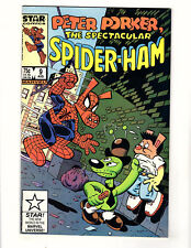 Peter Porker, The Spectacular Spider-Ham #9 (1986, Marvel/Star) Vf Sub-Marsupial