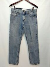 Tommy Hilfiger Mom Jeans 30x30 Classic Straight Fit Vintage Light Wash EUC*