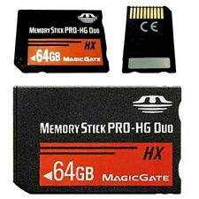 64GB Memory Stick MS Pro Duo Fast Flash Memory Card For Sony PSP 1000 2000 3000