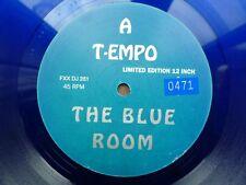 "T-Empo The Blue Room 12"" vinyl #1491"