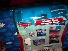 Disney Pixar Cars Room Makeover Slumber Bag Trunk Pillow Push Light New