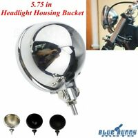 5.75 in Motorcycle LED Headlight Housing Bucket For Harley Sportster XL 883 1200