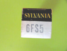 6FS5 SYLVANIA VINTAGE (TUBE), (NEW IN BOX / NEW OLD STOCK).