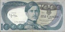 Portugal Portuguese 1000 Escudos Banknote