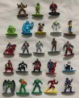 Disney Pixar DC Comics Marvel Nano Metalfigs Figures Total of 23 Figures FreeSh
