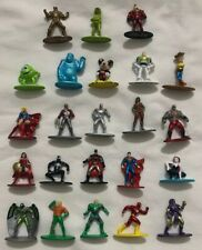 Disney Pixar DC Comics Marvel Nano Metalfigs Figures Total of 23 Figures FreeSh