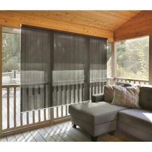 New Sunscreen Roll-Up Window Shades Multiple Colors And Sizes