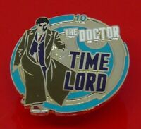 Danbury Mint Enamel Pin Badge BBC TV Doctor Who Dr Who The 10th Tenth Doctor