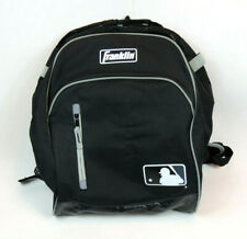 "Franklin Mlb Youth Batpack Baseball Storage Bag 19.25"" x 14"" x 7.25"" Black/Gray"