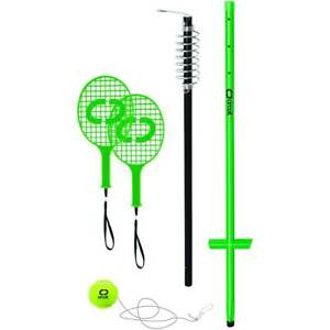 Totem Tennis Set Adjustable Outdoor Sports Game Kids Adults Beach Picnic Camping