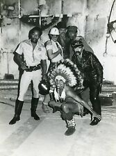 VILLAGE PEOPLE 80S VINTAGE PHOTO ORIGINAL DISCO
