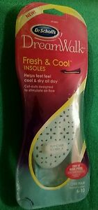 NEW Dr. Scholls Dreamwalk Fresh and Cool Insole  Womens Sizes 6-10