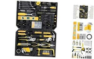 FIXKIT 216 Piece Household Tool Kit, Home Repair Tool Set, General Household
