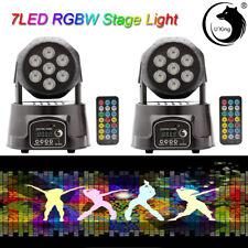 105W RGBW 2 in Moving Head Light RGBW Beam DMX Stage Party DJ Lighting Xmax US