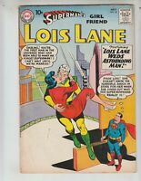 "Superman 's Girlfriend, Lois Lane 18 VG- (3.5) 7/60 ""Lois Weds Astounding Man!"""