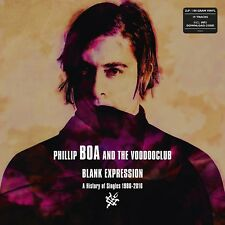 PHILLIP AND THE VOODOOCLUB BOA - BLANK EXPRESSION:  SINGLES   2 VINYL LP NEW+