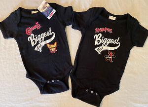 Minor League Baseball Infant Creeper, Chihuahuas, Isotopes, Soft As A Grape 1-Pc