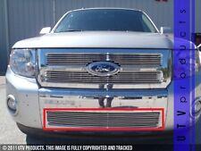 GTG 2008 - 2012 Ford Escape 1PC Polished Overlay Bumper Billet Grille Grill