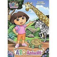 ABC Animals (Dora the Explorer) (Color Plus Card Stock) by Golden Books, Good Bo