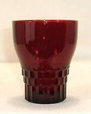 Depression Glass Royal Ruby WINDSOR 9 oz Tumbler/s