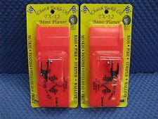 Church Tackle Tx-12 Mini Planer Board - Port & Starboard 2 Pack